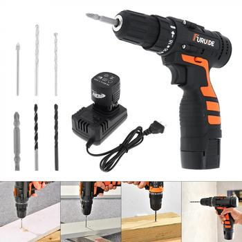 цена на Electric Drill Power Tool 16.8V Rechargeable Mini Screwdriver Multifunctional Lithium Hand Drill for Screwing / Corner Repair