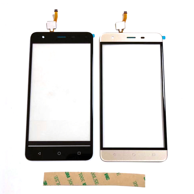 For <font><b>BQ</b></font> <font><b>BQ</b></font>-5521 Strike Power <font><b>Max</b></font> 5.5inch Touch <font><b>Screen</b></font> Glass Lens Digitizer Front Glass Sensor With Adhesive Tape Replacement image
