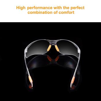 Ergonomiczne okulary ochronne Anti Fog Riding Working górnictwo Eye PVC wiatroszczelne okulary ochronne okulary Clear Protection tanie i dobre opinie