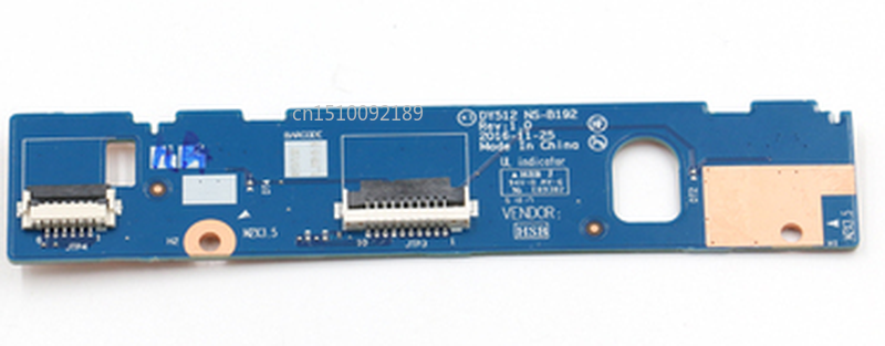 Free Shipping FOR Lenovo R720-15 Y520-15IKB Touchpad Mouse Button Board DY512 NS-B192 Test Good
