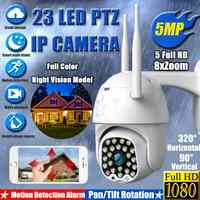 1080P PTZ IP Camera Outdoor Speed Dome Wireless Wifi Security Camera 8X Zoom 5MP IR Baby Pet Monitor CCTV Surveillance Webcam HD