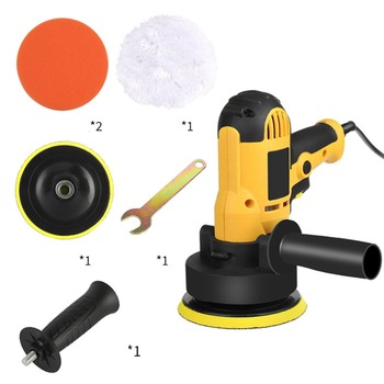 700W M14 Auto Polishing Machine With Disc 220V Electric Car Polisher Waxing Tool Sander Power For Floor Furniture - discount item  32% OFF Power Tools