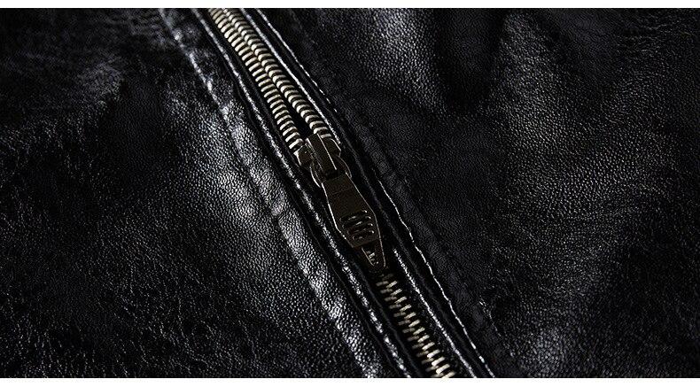 Haaf028db68ba4cfaa8eabeb2ee6861ffJ Men's Natural Real Leather Jacket Men Motorcycle Hip Hop Biker Winter Coat Men Warm Genuine Leather Jackets plus size 3XL