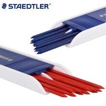 Staedtler 2.0mm wkłady grafitowe do ołówków mechanicznych czarne/niebieskie/czerwone kolory biurowe i przybory do pisania w szkole