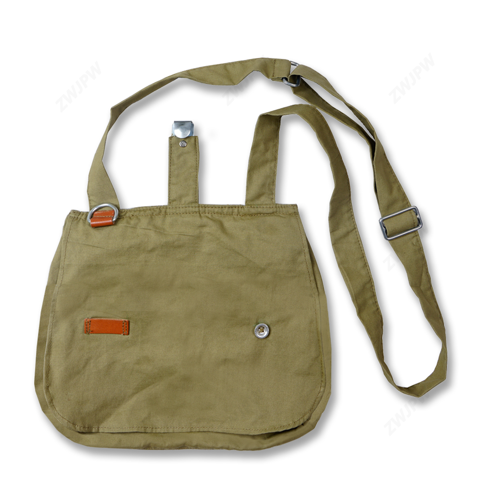 WW2 CHINA ARMY KMT INCLINED SHOULDER BAG OUTDOOR TRAVEL BAG