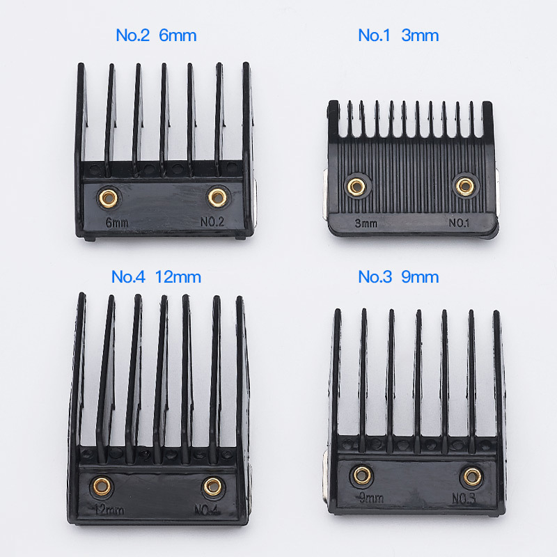 4Pcs Universal Hair Clipper Limit Combs Guide Guard Attachment Size 3.6.9.12mm Barber Replacement Hair Trimmer Limit Comb Set