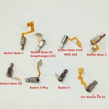 Vibrator การสั่นสะเทือนมอเตอร์โมดูลสำหรับ Xiaomi Redmi 3 4 4X 5 Plus 5A 6 6A 6 Pro A2 Lite S2 y2 หมายเหตุ 2 3 4 4X 5 5A Mi 5X A1 MAX Max2