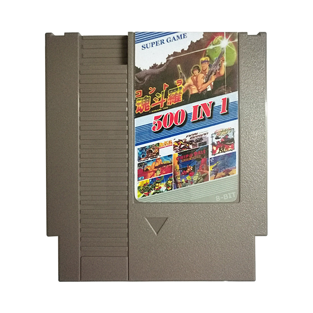 72 500 In 1 Game Cartridge Classic Pocket Games save Game Card For 72 Pin 8 Bit 72pin Game Player For N-E-S (3)