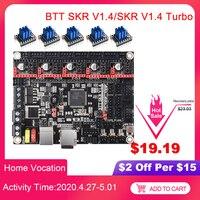 Bigtreetech skr v1.4 placa de controle btt skr v1.4 turbo 32bit wifi tmc2209 peças impressora 3d skr v1.3 tmc2208 para ender 3 mks gen l Peças e acessórios em 3D Computador e Escritório -
