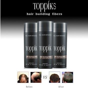 Toppik Hair Fibers Keratin Thickening Spray Building Refill Existing Wig Regrowth Powders