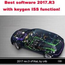 2021 Nieuwste Software Voor Vd V5.0012/V5.008 R2 2017.R3 2016R.0 Keygen Op Cd/Disk/Dvd Voor Delphis Voeg Meer Auto