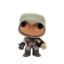 цена на Hot ACT game Assassins Creed action figures 10cm Ezio 21 model doll toys collection for adults kids gifts