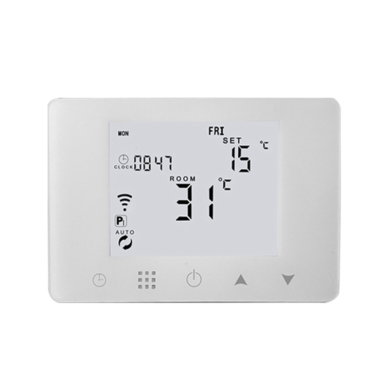 HHO-BGL09RF-WIFI Wireless Thermostat Boiler Gas Wall-Mounted Temperature Controller EU Plug