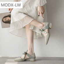 Square high heels bow high heels ladies elegant wedding shoes fashionable and comfortable all match outdoor non slip shoes