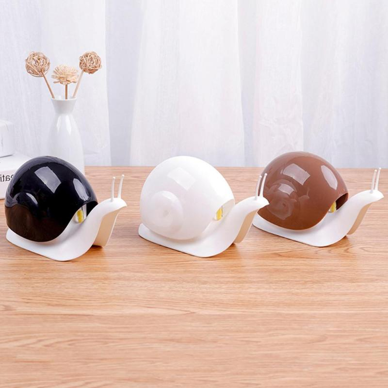 120ml Snail Shape Portable Soap Dispenser Plastic Press Home Liquid Shampoo Container Bathroom Kitchen Sink Accessory