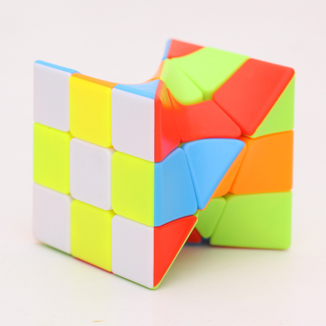 Z-Cube 3x3x3 Neo Torsion Twist magic cube puzzle Zcube 3x3x3 Intelligence Twisted Educational Cool Toys 2
