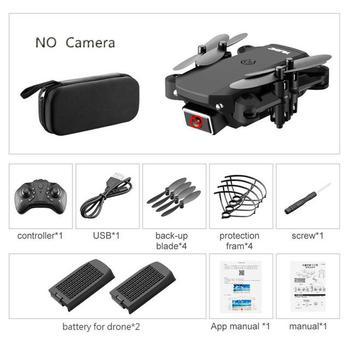 ZITY S66 FPV Mini Drone With Camera HD RC Foldable Drone 4K Professional Wifi Double Camera Drones Quadcopter RC Drone Mini Toys 7
