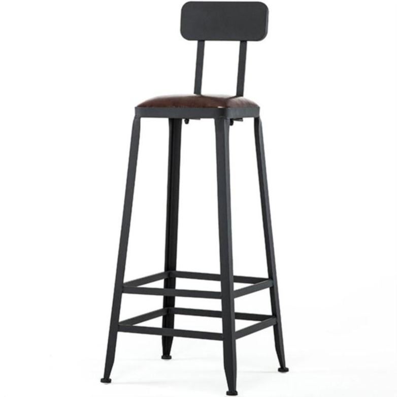 H1 Bar Stool High Stools Wrought Iron Home Back Bar Stool Tables And Chairs Modern Minimalist High Chair Bar Chair High Chair