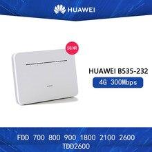 Desbloqueado huawei b535 B535-232 roteador 4g 300mbps roteadores cpe wifi hotspot roteador com slot para cartão sim pk b525
