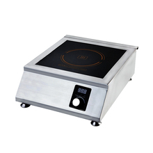3500w Commercial Induction Cooker 5 Speed Adjustment High Power Stainless Steel Intelligent Waterproof Plane