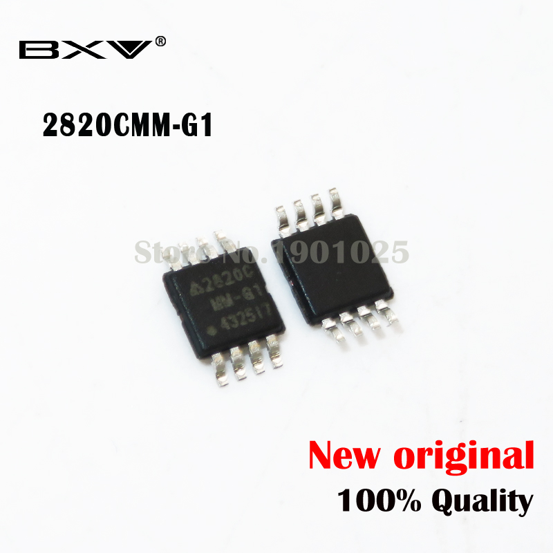 10pcs AP2820CMMTR-G1 AP2820C  2820C  AP2820  MSOP-8 New Original
