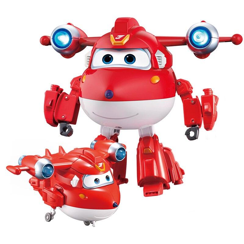 Новый сезон, большие деформационные Супер Крылья ABS, суперзарядка, робот, фигурки, светильник, игрушки для трансформации звука