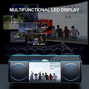Image 4 - SOAIY S99 سمّاعات بلوتوث HiFi مكبر الصوت اللاسلكي ستيريو الصوت مضخم الصوت أفضل مكبر الصوت 8000mAH قوة البنك مشغل فيديو