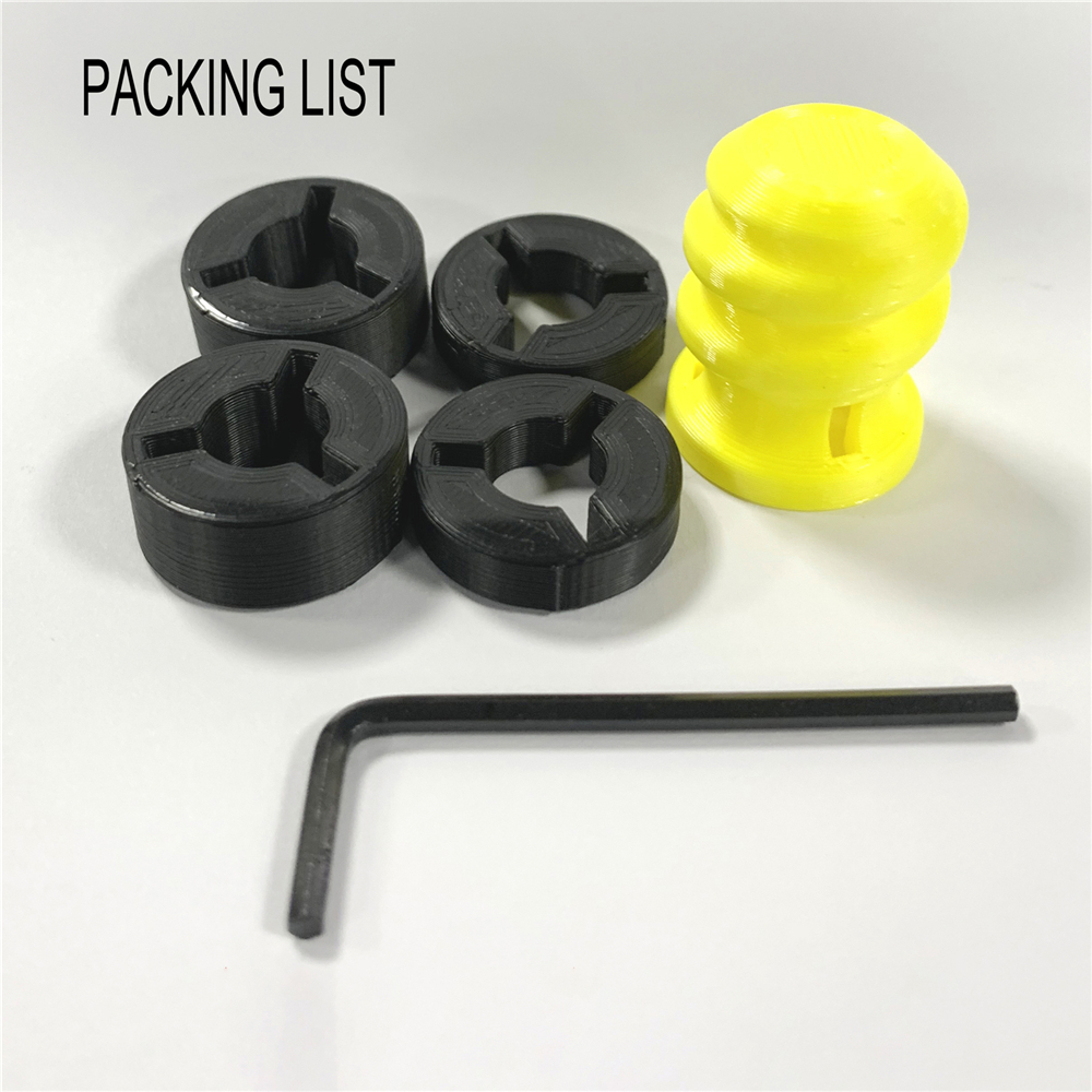 For Logitech G25 / G27 / G29 Racing Game Steering Wheel Universal Pedal Modification Kit