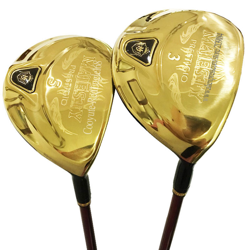 New Golf Clubs Maruman Majesty Prestigio 9 Golf Fairway Wood 3/15 5/18 Loft Graphite Shaft R Or S Golf Wood Clubs Free Shipping