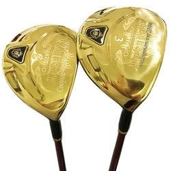 New Golf clubs Maruman Majesty Prestigio 9 Golf Fairway wood 3/15 5/18 Loft Graphite shaft R or S Golf wood clubs Free shipping