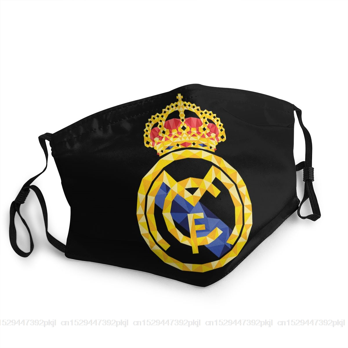 Cool Creative Mouth Mask Real Madrided Muffle Masks