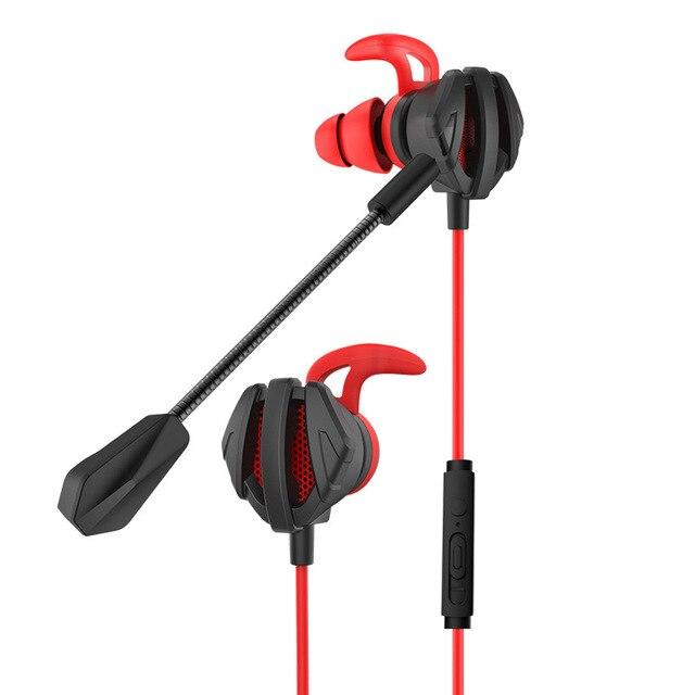 Kulaklık kask CS oyunları için oyun kulak kulaklık 7.1 Mic ses kontrolü ile PC oyun kulaklık