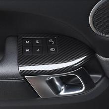 4pcs רכב ABS פלסטיק לנדרובר ריינג רובר ספורט RR ספורט 2014 2018 מושב עם זיכרון כיסוי פחמן סיבי אבזר