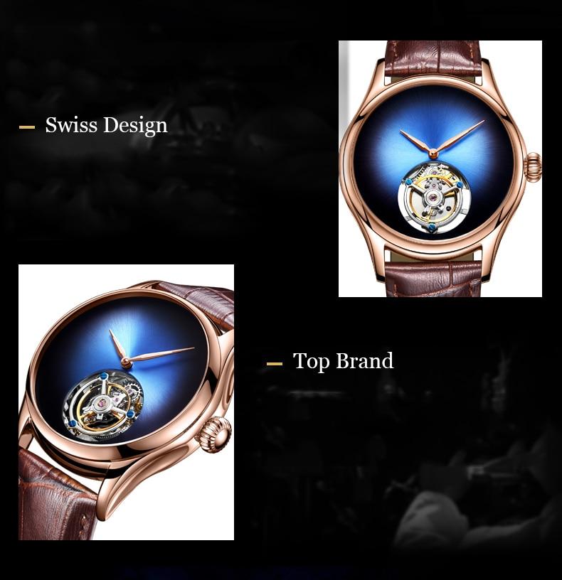GUANQIN 2019 Tourbillon Men watches top brand luxury 100% real Tourbillon clock men Sapphire mechanical watch Relogio Masculino 12