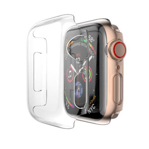 Image 5 - PC Hard Protective Case Shell Frame For iwatch Apple Watch Series 2/3/4/5/6/SE 38mm 42mm 40mm 44mm Screen Protector Glass Cover