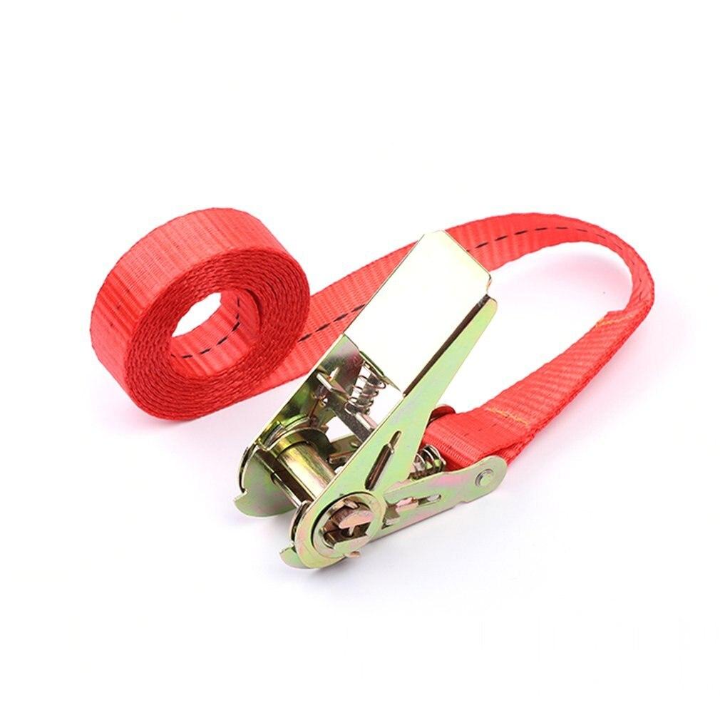 6 m fivela tie down cinto de carga cintas para carro motocicleta bicicleta com fivela de metal corda de reboque forte cinto de catraca para saco de bagagem|Cordas| |  - title=