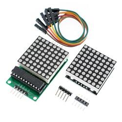 1 шт., модуль точечного матричного дисплея max7218, модуль управления с одним чипом, комплект для творчества