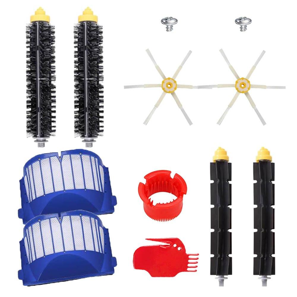 Replacement Kits For IRobot Roomba 600 Series 610 620 630 650 660 Vacuum Cleaner Beater Bristle Brush/Hepa Filter/Side Brush
