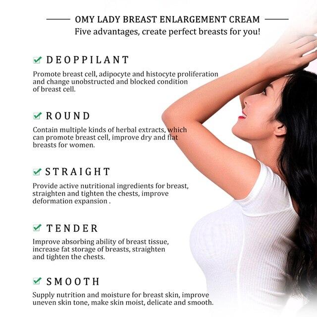 تعزيز الثدي كريم تكبير الثدي تعزيز الهرمونات الإناث رفع الثدي ثبات تدليك أفضل ما يصل حجم التمثال الرعاية OMY سيدة 6