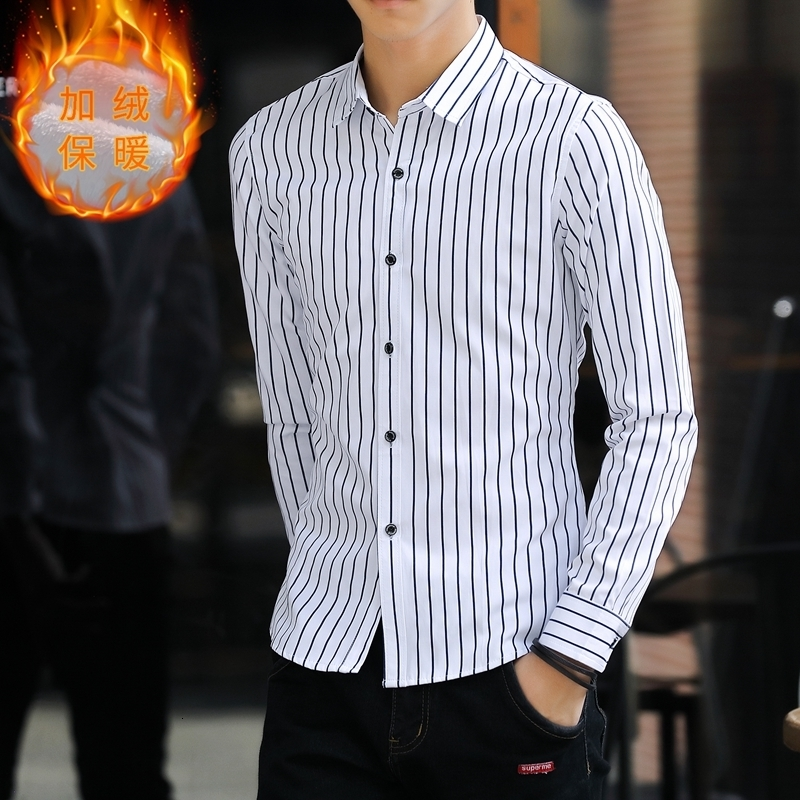 Plus Size 4xl  Winter Fashion Mens Plaid Shirts Long Sleeve Flannel Mens Shirts Regular Fit Good Quality Warm Male Shirt