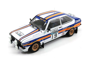New special model diecast Metal 1/18, Escort RS1800 WRC 1979 from the United States Department, furniture, children's toys