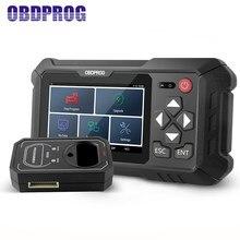 Outils de Diagnostic de voiture, OBDPROG 501, OBD2, programmation de clé IMMO, puce EEPROM à distance, effaçable, OBDII EOBD