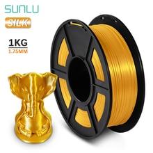 SUNLU PLA SILK Filament  1KG/330M 2.2 lbs 3D Printer Filament DIY For 3D Printer Silk Gloss Refills Biodegradable Material