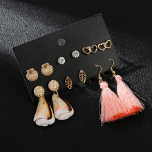 Ethnic Boho Sea Shell Cowrie Statement Dangle Earrings For Women Trendy Golden Metal Heart Leaf Earrings 2019 New Party Jewelry керамическая плитка impronta beige experience wall royal beige living lap 60х60 напольная