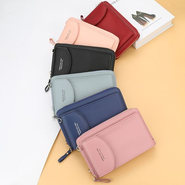 Fashion Women Girls Small Mobile Phone Shoulder Bag Pouch Case Lady Casual Mini Handbag Purse Crossbody Bag Female Shopping Tote 2