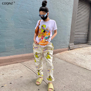 Sweatpants Joggers Women Streetwear Woman Pants Baggy Trousers Womens 90s Aesthetic Fall Clothing Bottoms Leggings A20346P