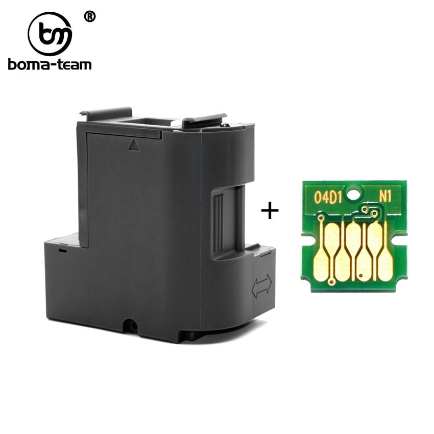 C13T04D100 T04D100 EcoTank Ink Maintenance Box For Epson XP-5100 L6160 L6171 L6170 L6190 ET-2700 ET-2750 ET-4750 ET-3700 ET-3750