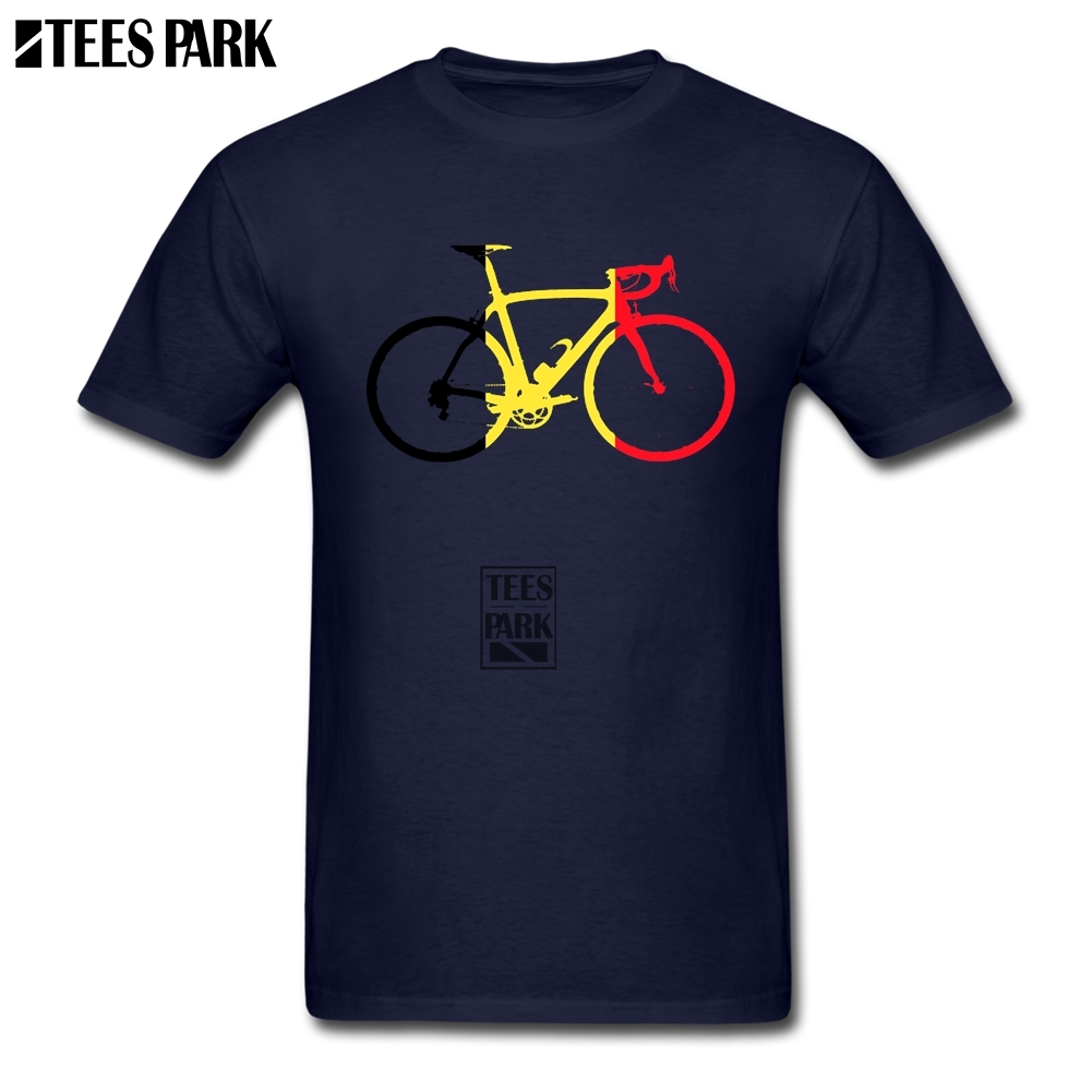 T Shirts Shopping Bikes Flag Belgium Cool T Shirts Natural Cotton Print Boy Flower Shirts For Guys Coloful