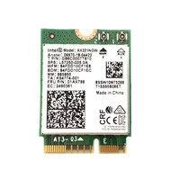 Intel wifi 6 ax201 bluetooth 5.0  banda dupla 2.4g/5g sem fio ngff botão e cnvi placa de wifi ax201ngw 2.4ghz/5ghz 802.11ac / ax