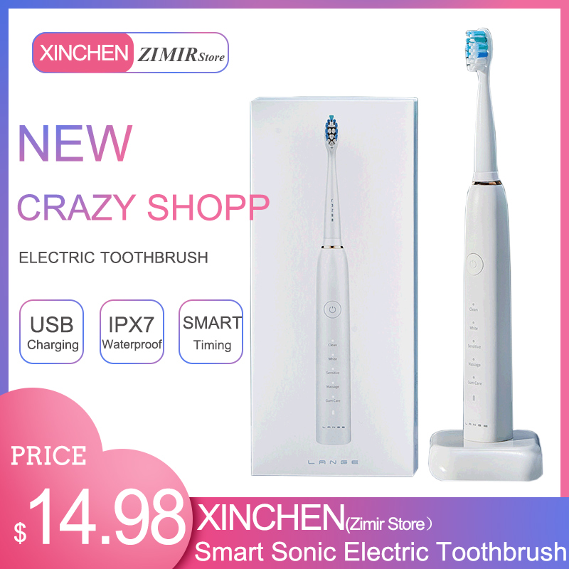 Factory direct sales of new lazy brother electric toothbrush adult lovers ultrasonic mute waterproof charging wholesale